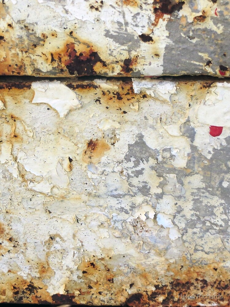 White Rust and Red Dot  by helen121