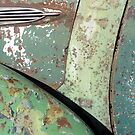 Green and Rust Car #5 by Helen Richards