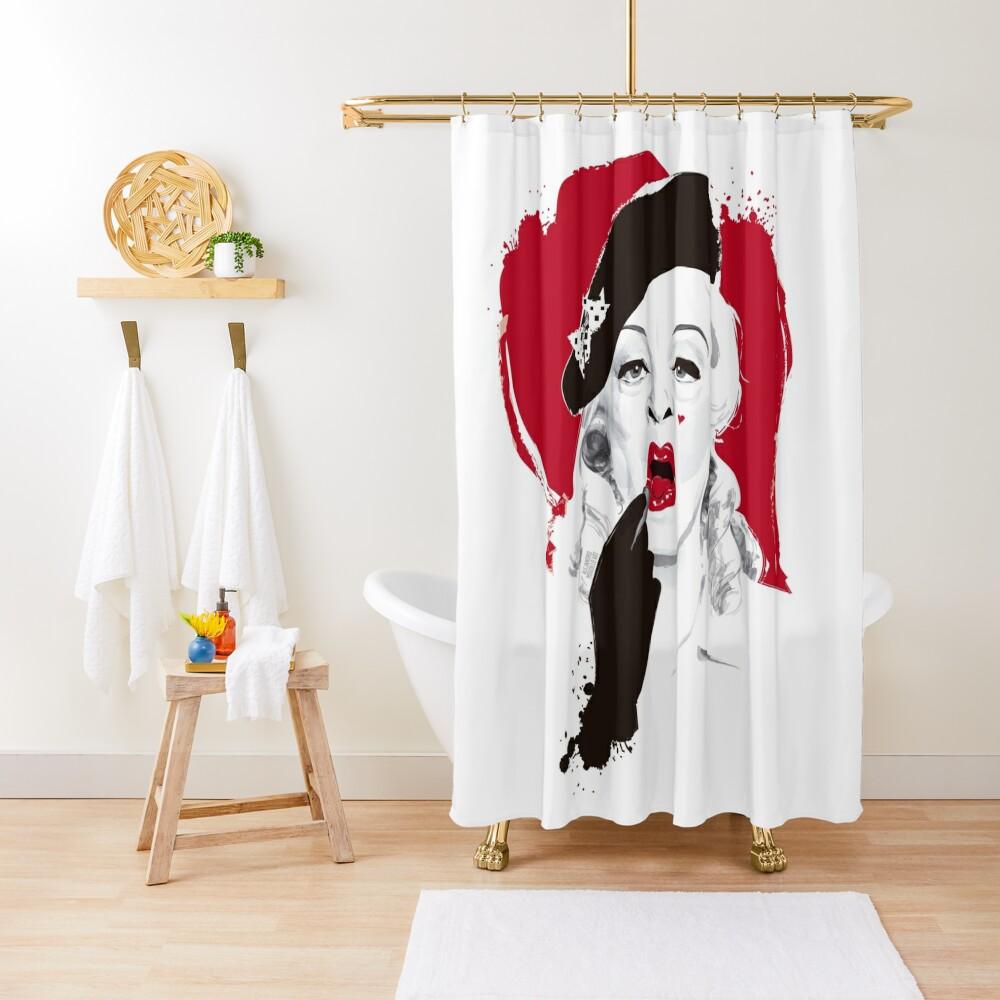 Baby Jane lipstick Shower Curtain