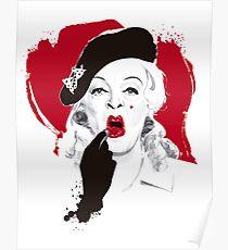 Baby Jane Lippenstift Poster