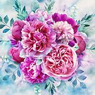 Beautiful pink peonies von CatyArte