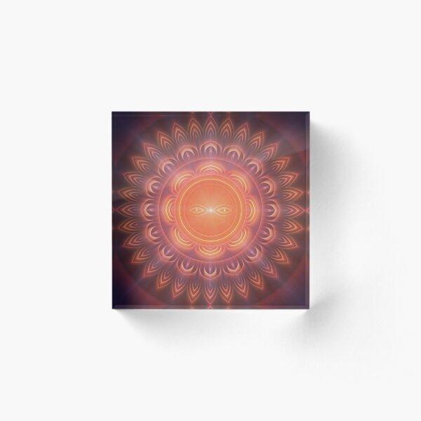 Sarvamangala ✨☀️ Acrylic Block