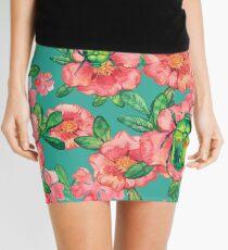 - Wild rose pattern - Mini Skirt