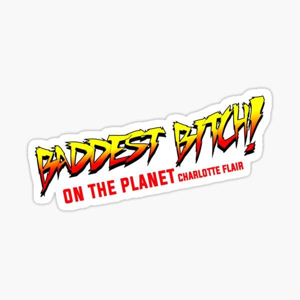 BB Charlotte Flair Sticker