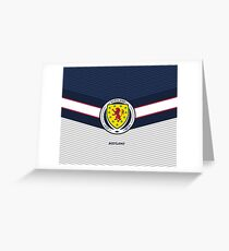 Scotland Football | Scottish Football Association | Logo Design - Pillow | Phone Case | Tablet | T Shirt | Duvet | Mug | Clock | Poster | Home Decor and more Greeting Card