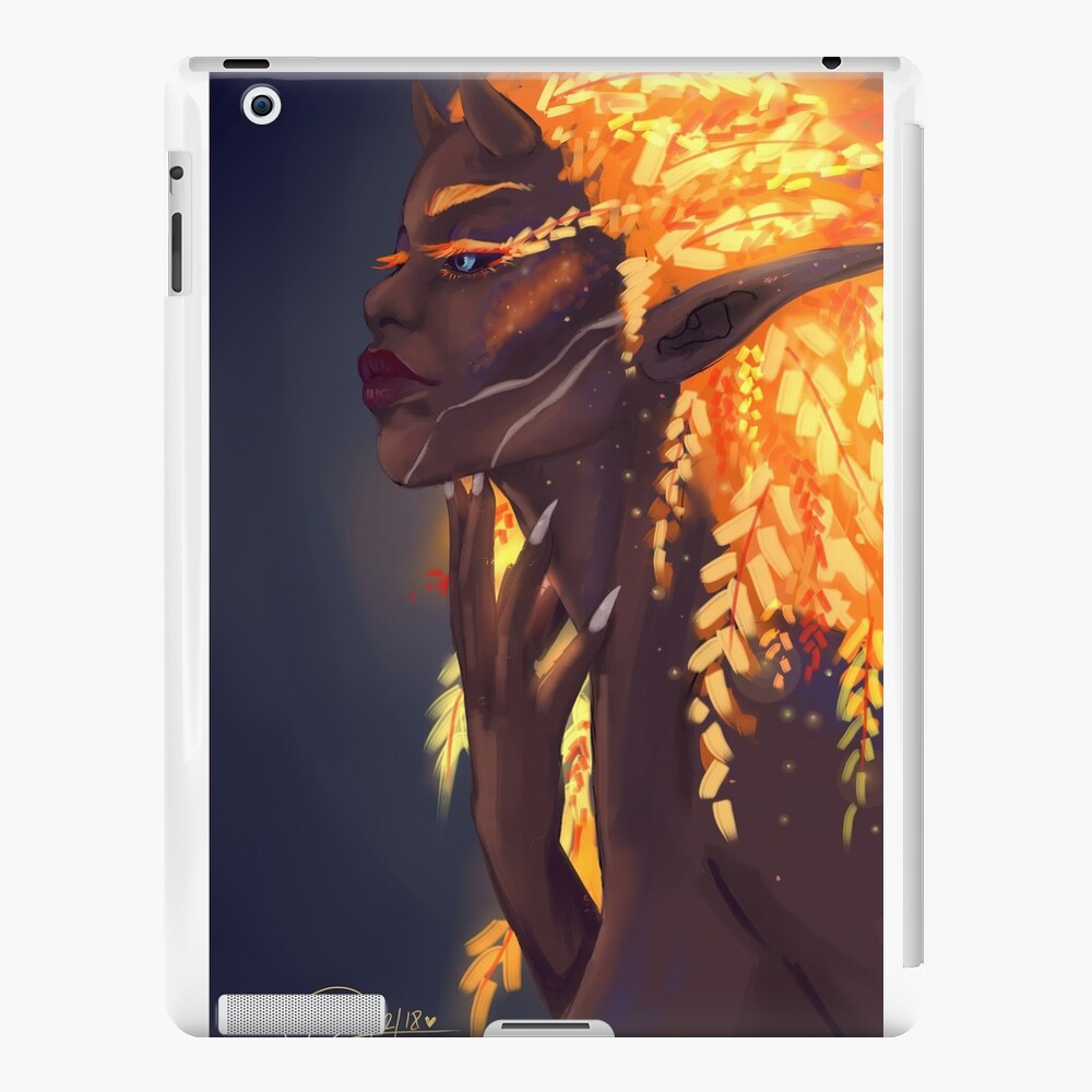 Fuego de hadas Vinilos y fundas para iPad