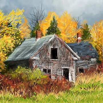 The House in the Woods by ConnorMackenzie