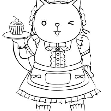 Cat series--Maid Cafe by RayRay000