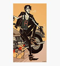 Professor Sycamore (very cool) Photographic Print