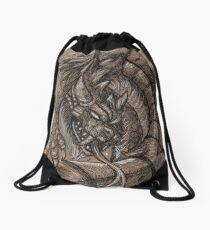 Dragonsnake Drawstring Bag
