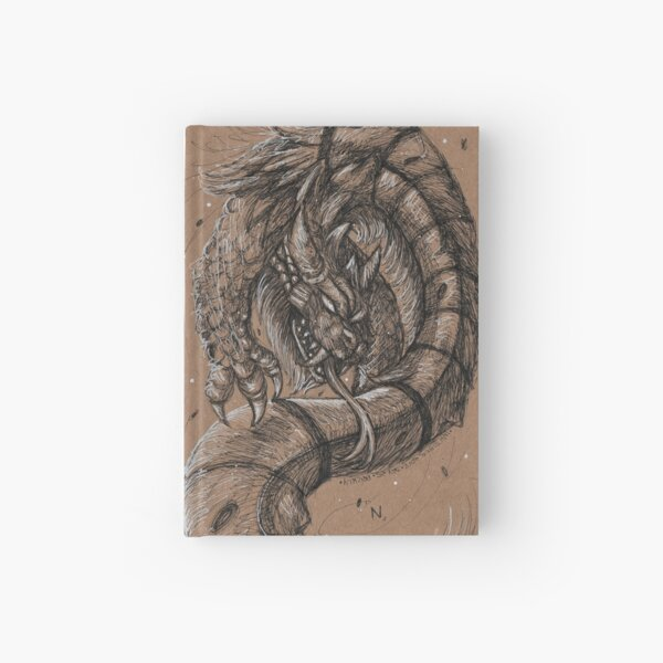 Dragonsnake Hardcover Journal
