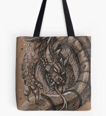 Dragonsnake Tote Bag
