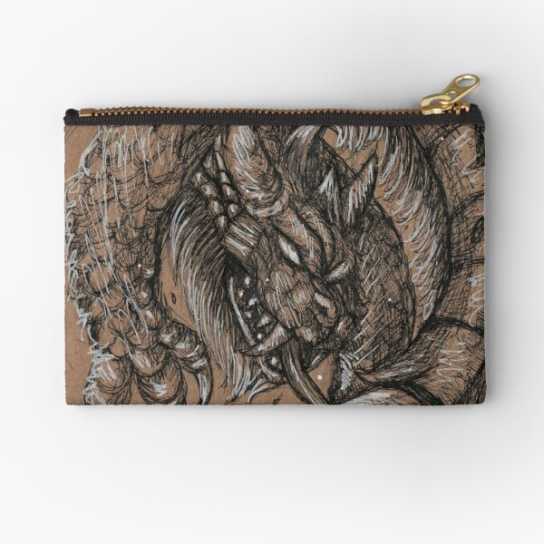 Dragonsnake Zipper Pouch