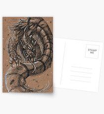 Dragonsnake Postcards