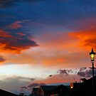 Rangiora Sunset by John Brotheridge