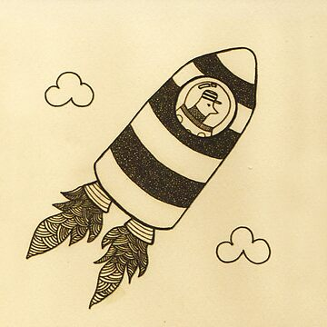 rocket bird  by marianabeldi