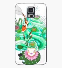 Funda/vinilo para Samsung Galaxy Look upon the flowering lilypads