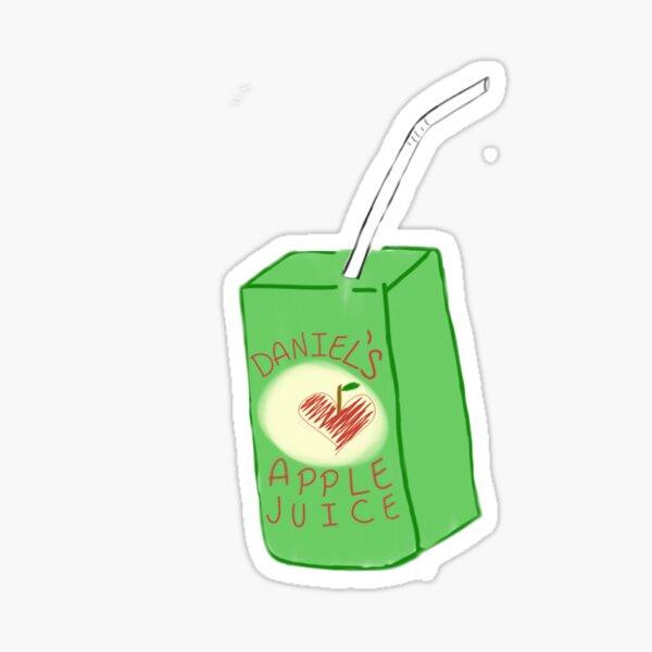 Daniel Seavey Apple Juice Design Sticker
