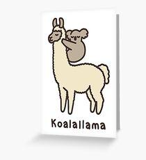 Koalallama Greeting Card