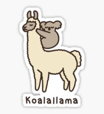 Koalallama Sticker