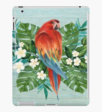 Love Summer Parrot iPad Case/Skin