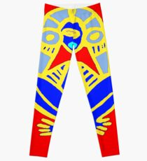 PUERTO RICAN NATIVE ART Leggings
