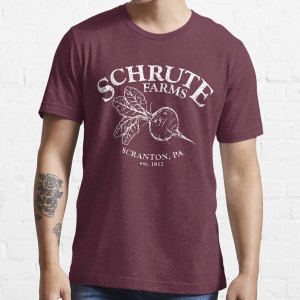 Fermes Schrute | lit et petit-déjeuner T-shirt essentiel