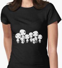 Kodama, tree spirits Women's Fitted T-Shirt