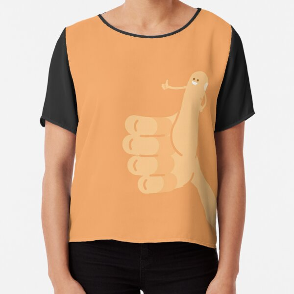Thumbs Up Chiffon Top