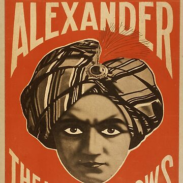 Vintage poster - Alexander, The Man Who Knows by mosfunky