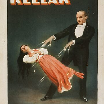 Vintage poster - Kellar the Magician by mosfunky
