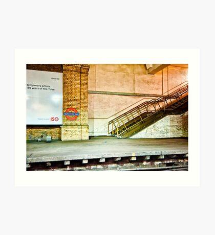 Gloucester Road Tube Station Art Print