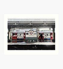 Golders Green Tube Station Art Print