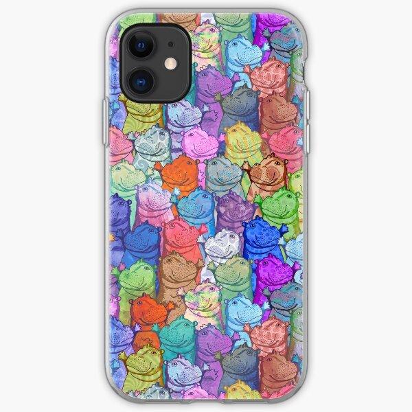 Hippo Disco iPhone Soft Case