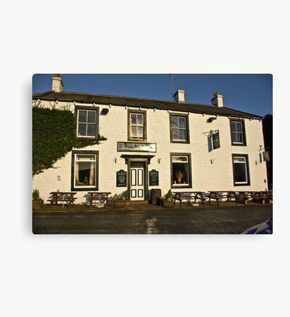 The New Inn - Appletreewick Canvas Print
