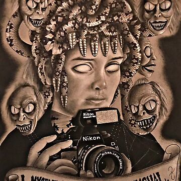 Medusa Deetz  by Shredart23b