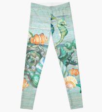 Love Summer Ocean Leggings