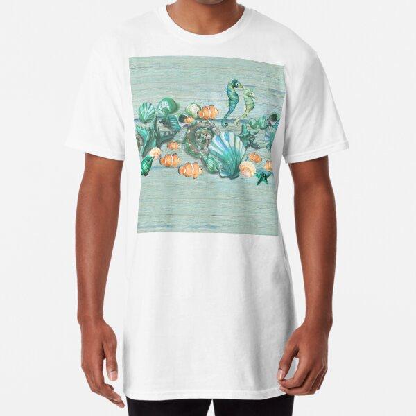 Love Summer Ocean Long T-Shirt