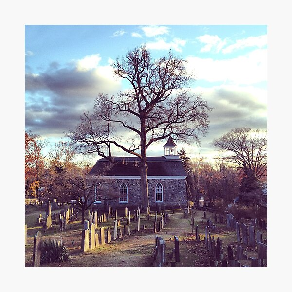 Old Dutch Church, Sleepy Hollow, NY Photographic Print