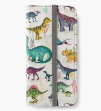 Bright Dinosaurs iPhone Wallet/Case/Skin
