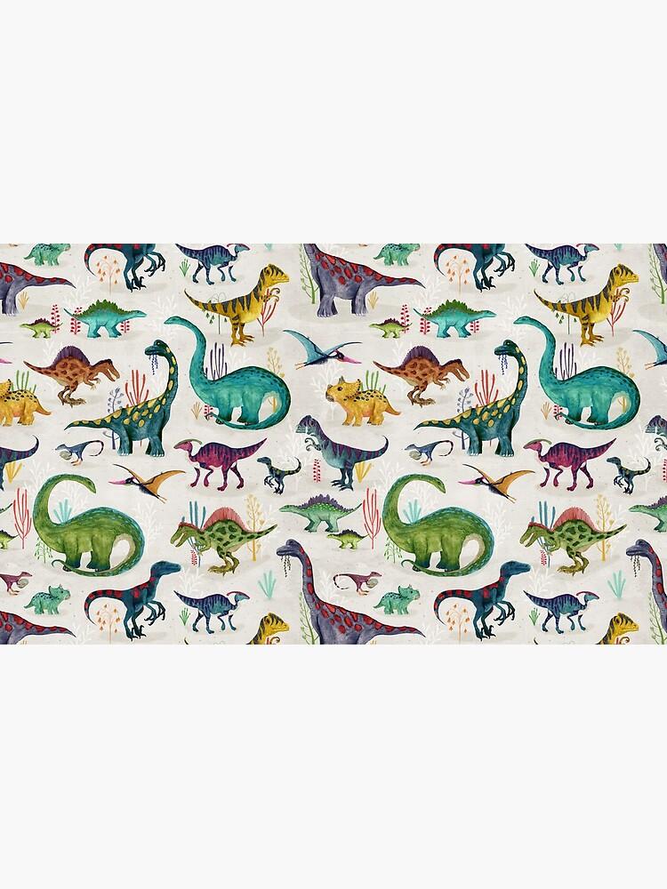 Bright Dinosaurs by katherineq