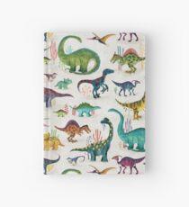 Cuaderno de tapa dura Dinosaurios brillantes