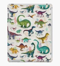 Bright Dinosaurs iPad Case/Skin