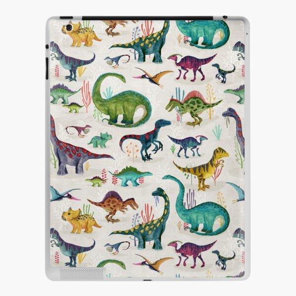 Bright Dinosaurs iPad Skin