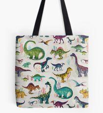 Bolsa de tela Dinosaurios brillantes