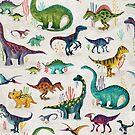 «Dinosaurios brillantes» de Katherine Quinn