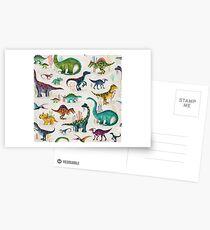 Bright Dinosaurs Postcards