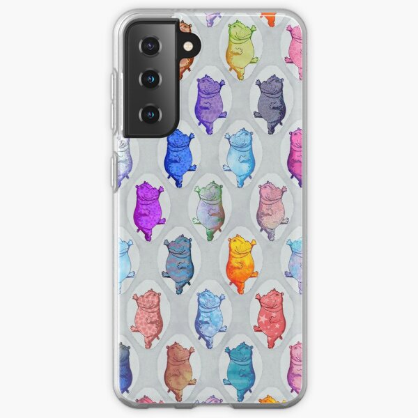 Dancing Hippos Samsung Galaxy Soft Case