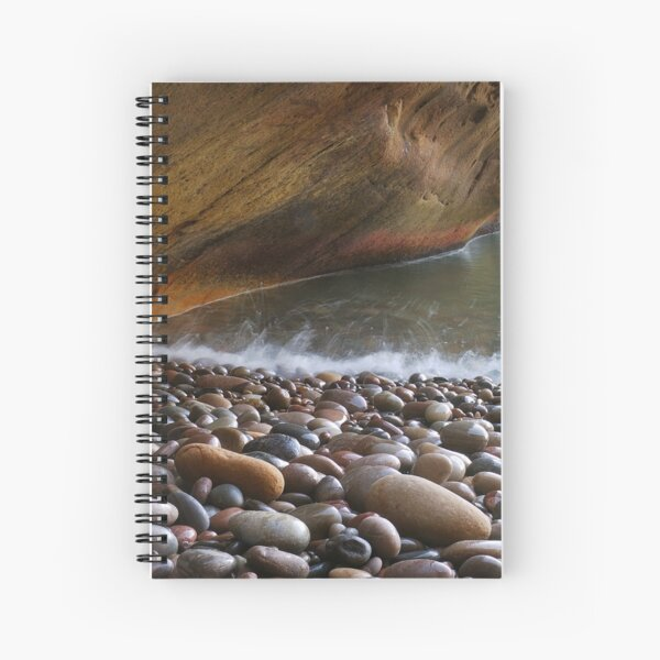 Boiling Pebbles Spiral Notebook
