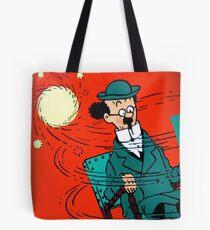 Tintin's Professeur Tournesol Tote Bag